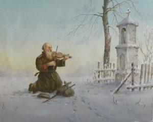 Zima by Edward Białek