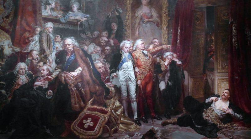 Rejtan at Sejm of 1773