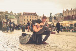 musician-in-Krakow
